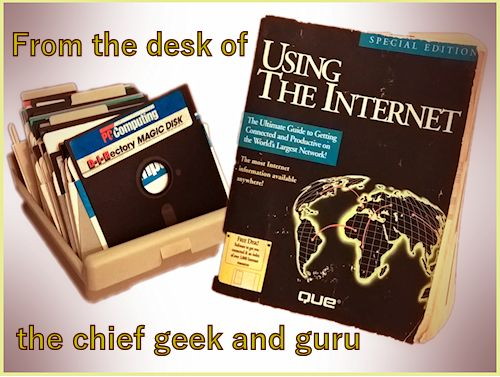 From the desk of chief geek and guru a word on the Geekhistory website references and resources