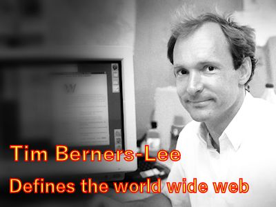 Tim Berners-Lee defines the world wide web